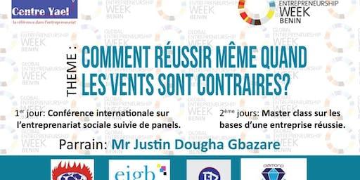 Semaine Mondiale de L'entrepreneuriat Social au Benin( SMESB