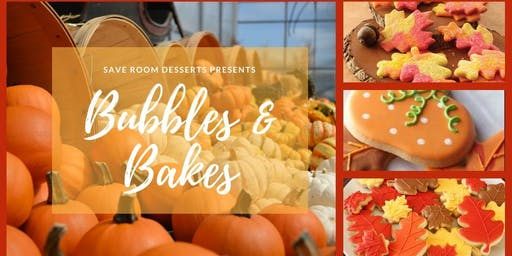 Bubbles & Bakes - Fall Cookie Decorating