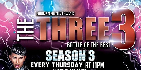 The Three3 Season 3 Finale tickets
