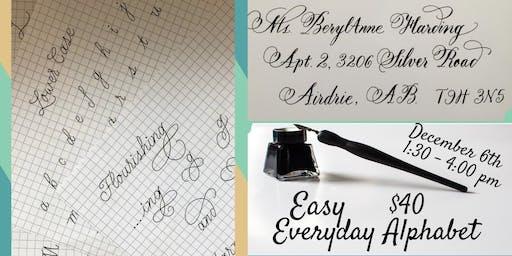 Easy Everyday Alphabet