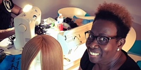Raleigh, NC | Enclosed Wig Making Class with Sewing Machine