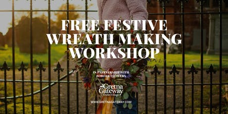 Festive Wreath Making Workshop tickets