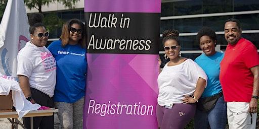 3rd annual Walk in Awareness
