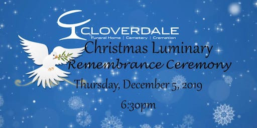 Christmas Luminary ~ Remembrance Ceremony