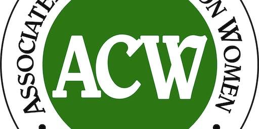 ACW November Meeting