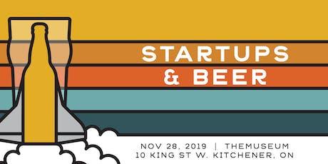 Startups and Beer: Nov 28, 2019 tickets