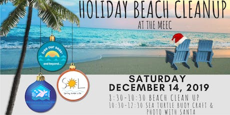 Holiday Beach Clean Up at the  Marine Environmental Education Center tickets