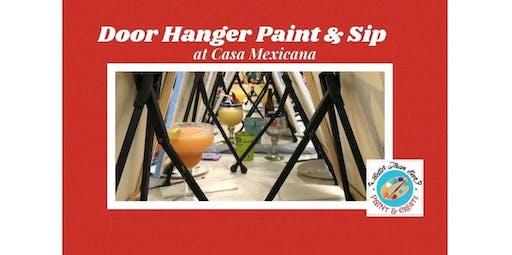 Paint & Sip at Casa Mexicana  (Nov 18, 2019)  (2019-11-18 starts at 6:30 PM)
