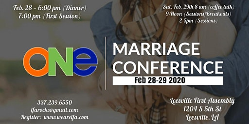 ONE Marriage Conference