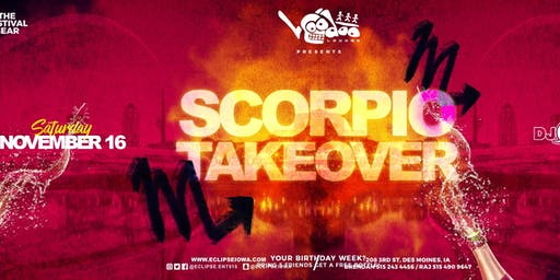 Scorpio Takeover at Voodoo Lounge
