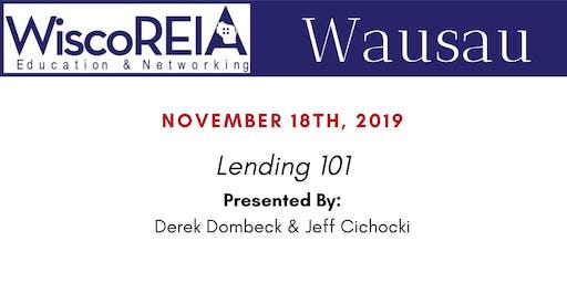 WiscoREIA's Wausau Meeting - November!