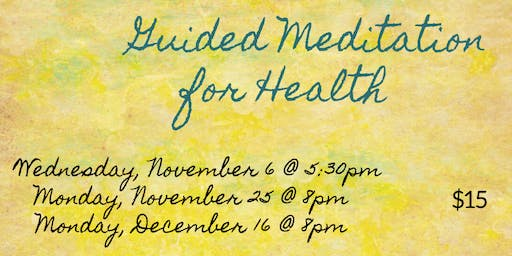 Guided Meditation for Health