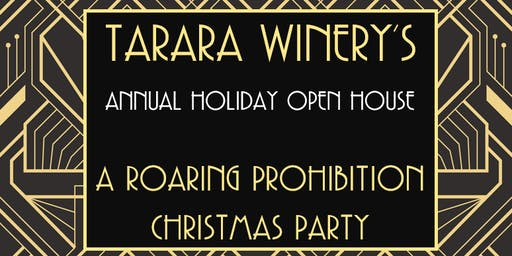 A Roaring Prohibition Christmas Party