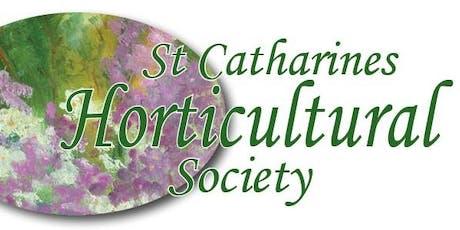 Garden Speaker Series:   Peter Thompstone tickets
