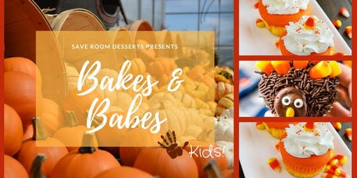 Bakes & Babes! - Fall Kids Cupcake Decorating Class