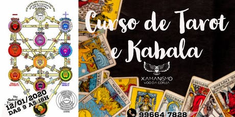 Curso de Tarot e Kabala com Marco Funchal ingressos