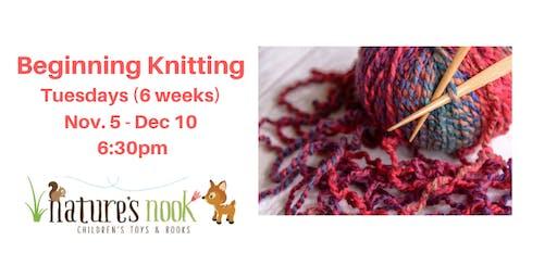 Beginning Knitting
