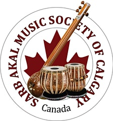 Sarb Akal Music Society of Calgary  logo