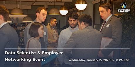 Data Scientist & Employer Networking Event tickets