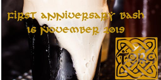 Torg Brewery's First Anniversary