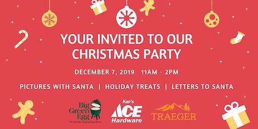 ACE NEIGHBORHOOD CHRISTMAS PARTY!