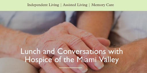 Lunch and Conversations with Hospice of the Miami Valley
