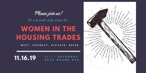 Women In Residential  Housing Trades - Holiday Brunch Mixer !
