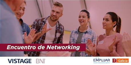 Evento de Networking BNI - VISTAGE. A beneficio del Programa Empujar entradas