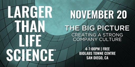 LARGER THAN LIFE SCIENCE | Big Picture