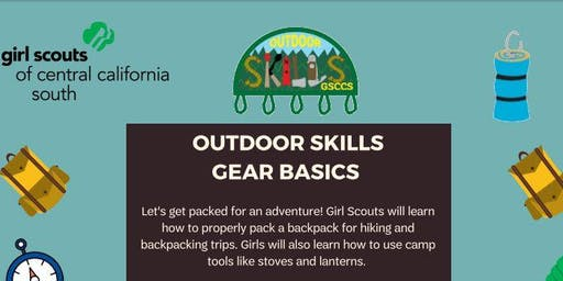 Outdoor Skills: Gear Basics - Ridgecrest