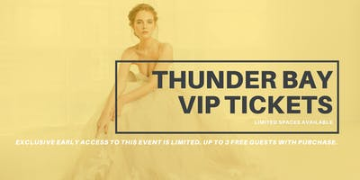 Opportunity Bridal VIP Early Access Thunder Bay Pop Up Wedding Dress Sale