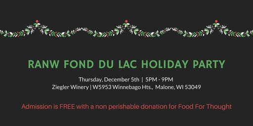 2019 RANW Fond du Lac Holiday Party