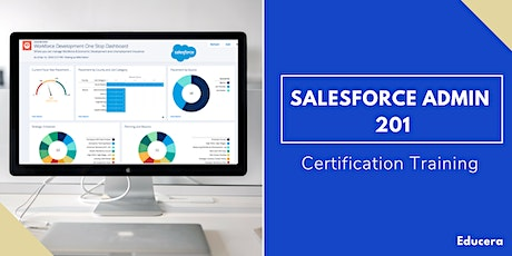 Salesforce Admin 201 & App Builder Certification Training in Redding, CA  tickets