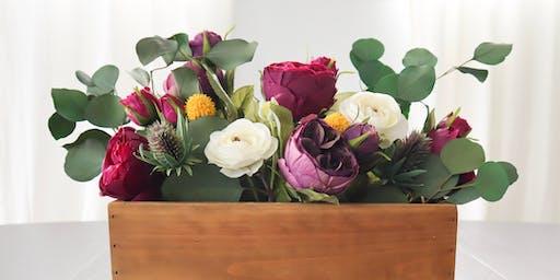 Faux Floral Centerpiece Workshop