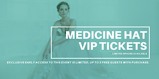 Opportunity Bridal VIP Early Access Medicine Hat Pop Up Wedding Dress Sale