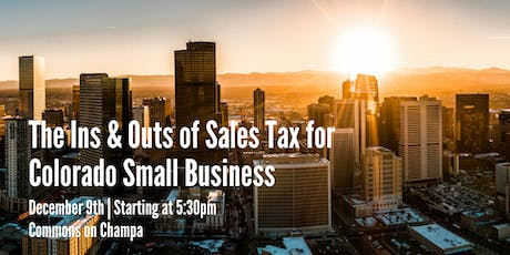 The Ins & Outs of Sales Tax for Colorado Small Business  tickets
