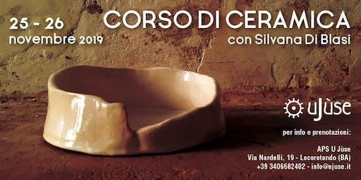 WORKSHOP DI CERAMICA |Silvana Di Blasi