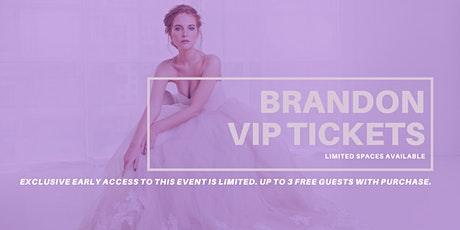 Opportunity Bridal VIP Early Access Brandon Pop Up Wedding Dress Sale tickets