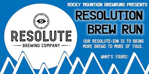 Resolution Brew Run