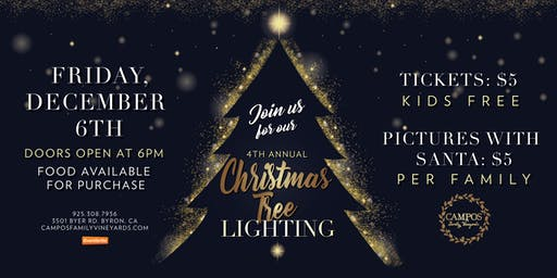 Canceled due to Weather!! 4th Annual Christmas Tree Lighting