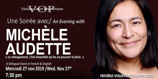An Evening with Commissioner Michele Audette