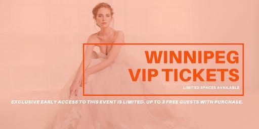 Opportunity Bridal VIP Early Access Winnipeg Pop Up Wedding Dress Sale
