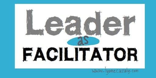 2020 : WELLINGTON, NZ - Leader as Facilitator