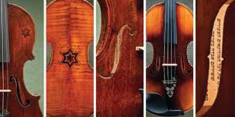 Violins of Hope Holocaust Remembrance Day Commemoration & Concert tickets