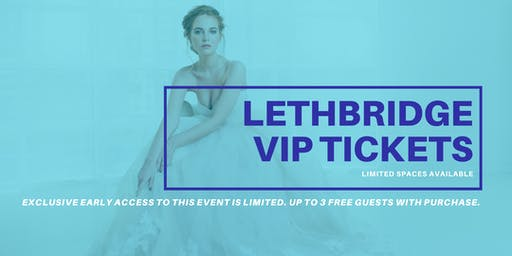 Opportunity Bridal VIP Early Access Lethbridge Pop Up Wedding Dress Sale