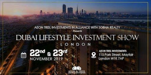 Dubai Lifestyle Investment Show London SOBHA