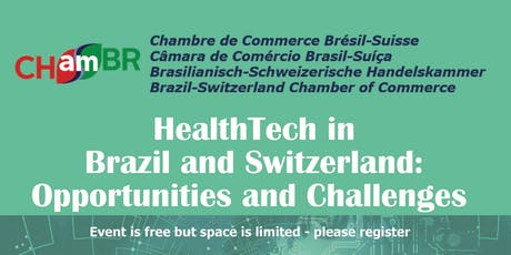 HealthTech in Brazil and Switzerland: Opportunities and Challenges tickets