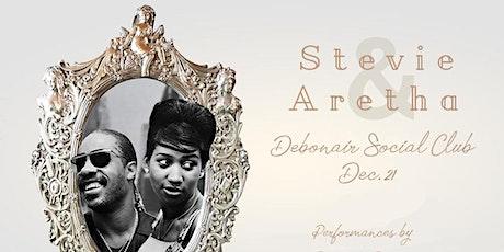 Stevie Wonder & Aretha Franklin Tribute @ Debonair Social Club tickets
