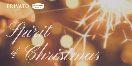 Spirit Of Christmas with Privato Vineyard and Winery and Woodward Cider Co. tickets