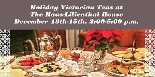 Holiday Victorian Teas 2019